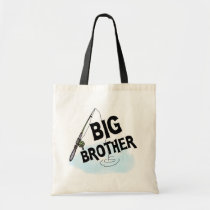 Big Brother Fishing Tshirts and Gifts Tote Bag
