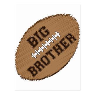 Big Brother Football Postcard
