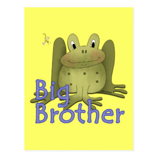 Big Brother Frog Post Cards