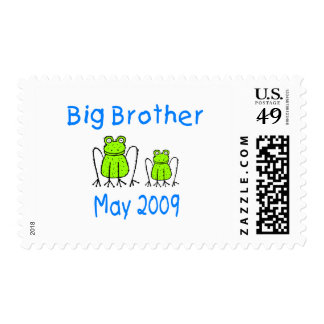 Big Brother Frogs May 2009 Postage Stamp