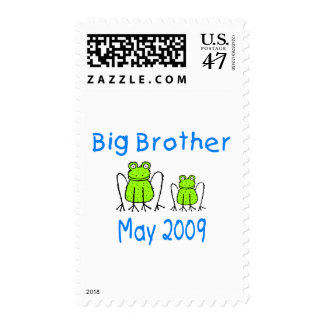 Big Brother Frogs May 2009 Stamp