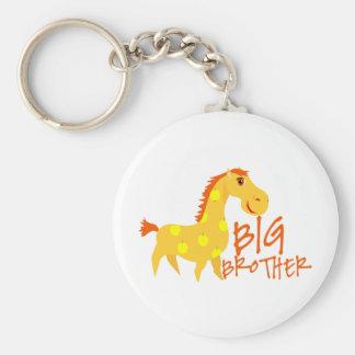 Big Brother Giraffe Keychain