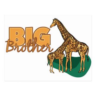 Big Brother Giraffe Post Card