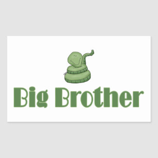 Big Brother Green Snake Stickers