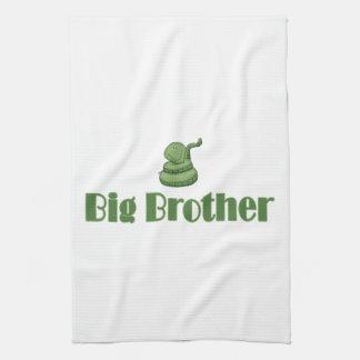 Big Brother Green Snake Towel