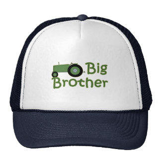 Big Brother Green Tractor Trucker Hat