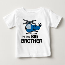 Big Brother Helicopter Baby T-Shirt