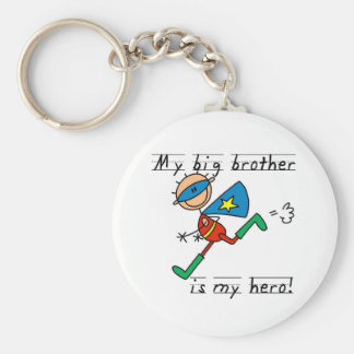 Big Brother Hero T-shirts and Gifts Basic Round Button Keychain