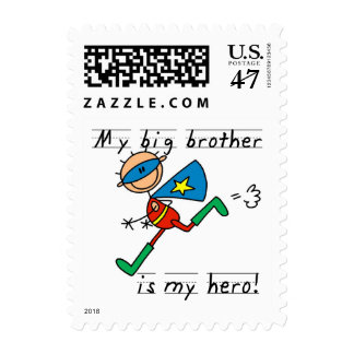 Big Brother Hero T-shirts and Gifts Stamp
