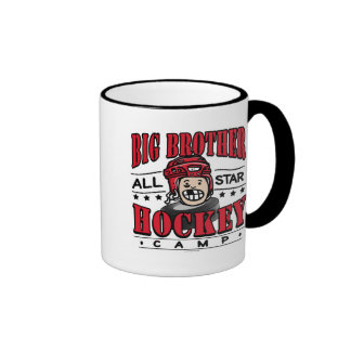 Big Brother Hockey Camp Red Helmet Mug