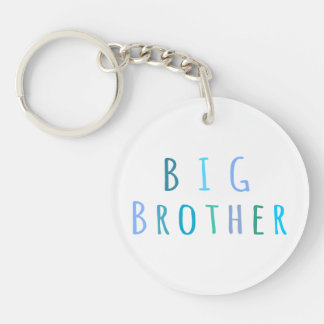 Big Brother in blue Keychain