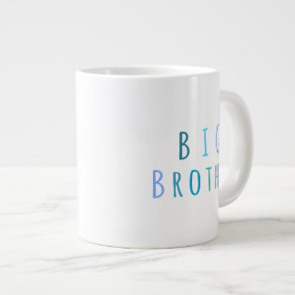 Big Brother in blue Large Coffee Mug