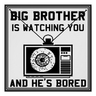 Big Brother Is Bored Poster
