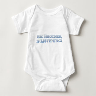 Big Brother Is Listening - Mult-Products Baby Bodysuit