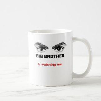 Big Brother is watching me. Classic White Coffee Mug