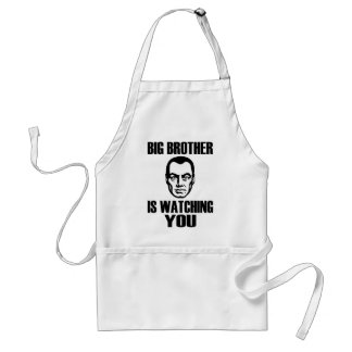 Big Brother is Watching You Adult Apron