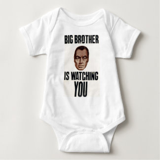 Big Brother Is Watching You Baby Bodysuit