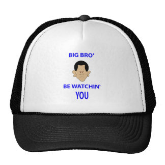 big brother is watching you bro' be watchin' obama trucker hat