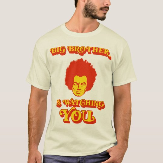 Big Brother is watching you(Funky version) tee