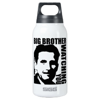 Big Brother is Watching You Insulated Water Bottle