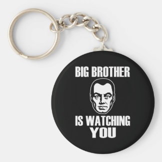 Big Brother is Watching You Keychain