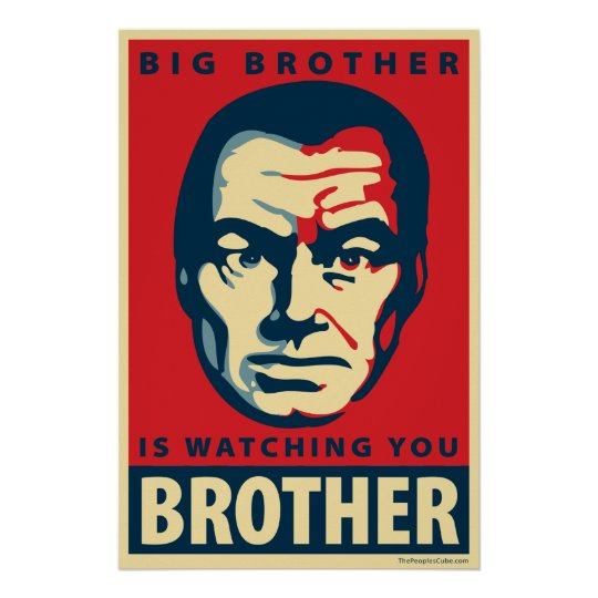 Big Brother - Is Watching You: OHP Poster