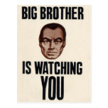 Big Brother is watching you! Postcard