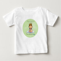 Big Brother - King of Princess Baby T-Shirt