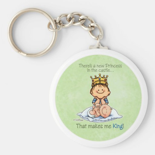 Big Brother - King of Princess Key Chain