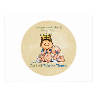Big Brother - King of Royal Twins Products Postcard
