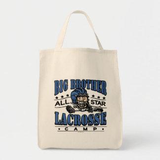 Big Brother Lacrosse Blue Helmet Tote Bag
