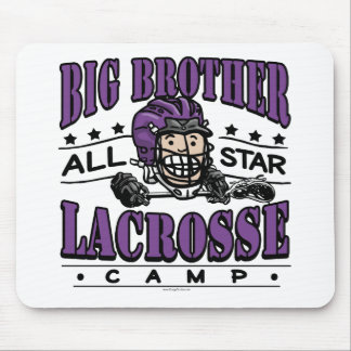 Big Brother Lacrosse Purple Mouse Pads