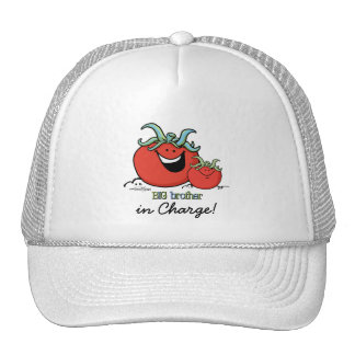 Big Brother - little sibling - Tomato Trucker Hat
