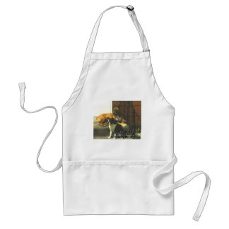 Big Brother Little Sister Adult Apron