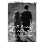 Big Brother Little Sister Greeting Card
