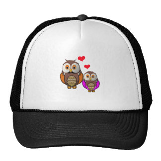 Big Brother & Little Sister Owls 01.png Trucker Hat