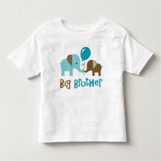 Big Brother - Mod Elephant Toddler T-shirt