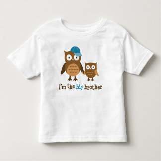 Big Brother Mod Owl t-shirts for boys