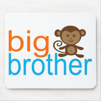 Big Brother Monkey Mouse Pad