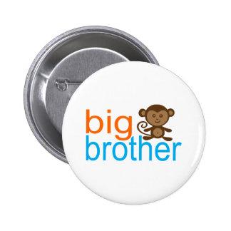Big Brother Monkey Pinback Button