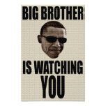 Big Brother Obama 1984 Posters