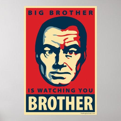 Big Brother: Obama parody poster