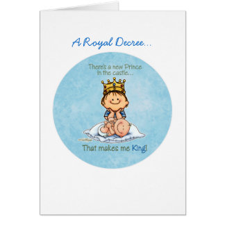 Big Brother of baby brother Cards