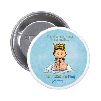 Big Brother of baby brother Pinback Button