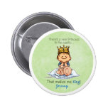 Big Brother of sister 2 Inch Round Button