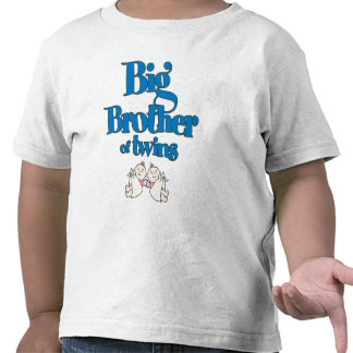Big Brother of Twin Girls Shirt