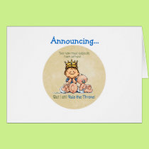 Big Brother of Twins Card