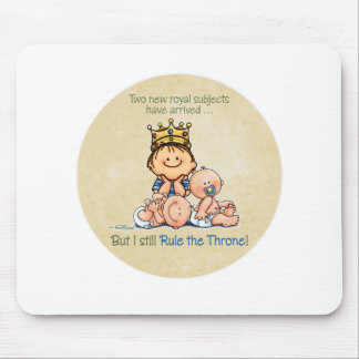 Big Brother of Twins Mouse Pad