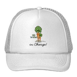 Big Brother  - orange Carrot Veggie Trucker Hat