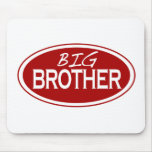Big Brother (oval) Mouse Mats
